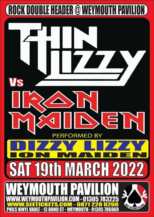 Thin Lizzy VS Iron Maiden